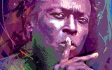 Miles Davis by David LLoyd Glover