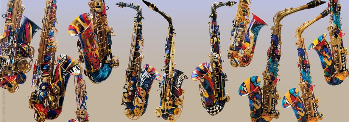 Roel's World Blog » Odd, Arty & Rare Saxophones